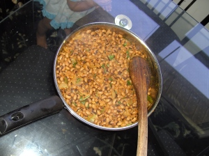 Black eye peas fry