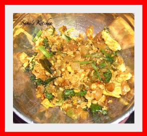 Beerakaya egg curry