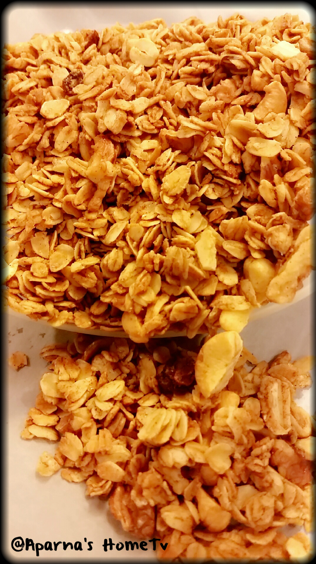 mixed nut granola