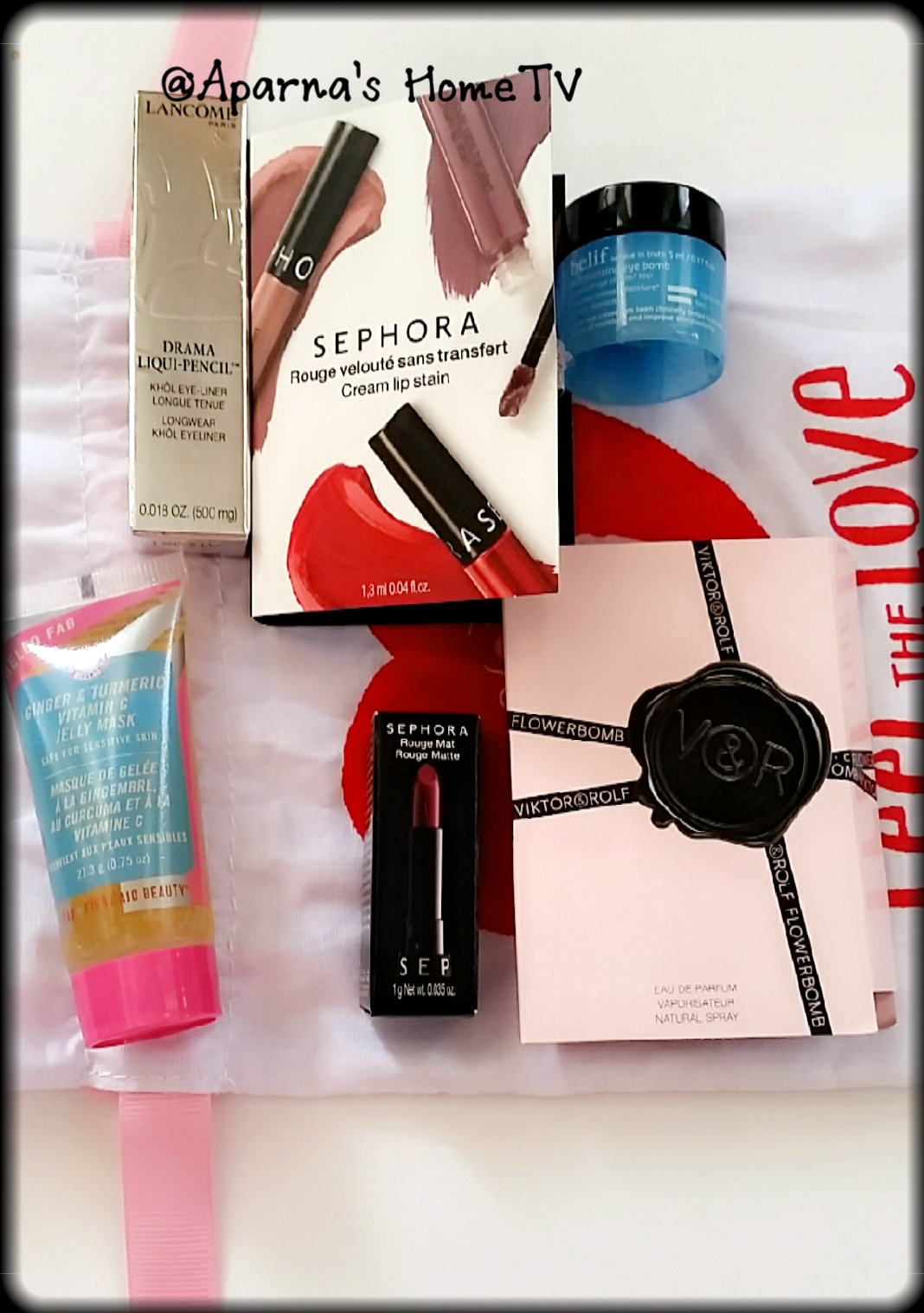 Sephora Subscription Box Reviews: February 2018 Sephora Play Box Review!!!